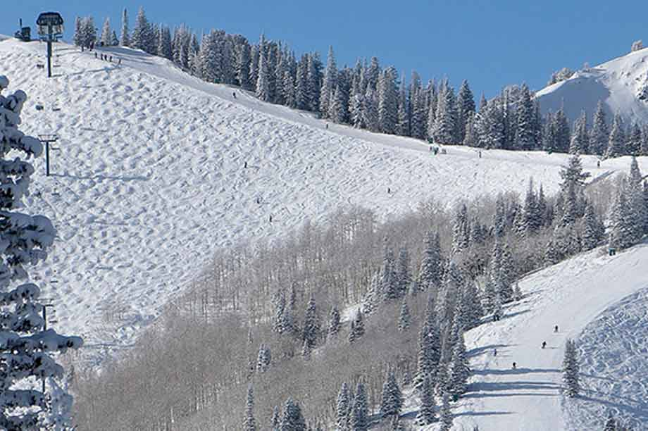 A beautiful day in Deer Valley.