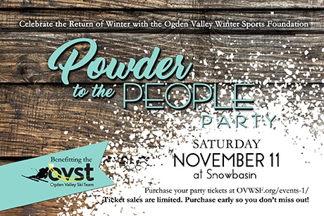 powder to the people welcome winter party