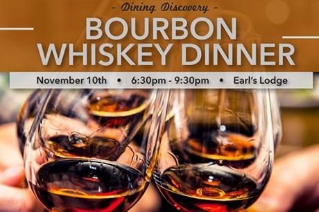 bourbon whisky dinner
