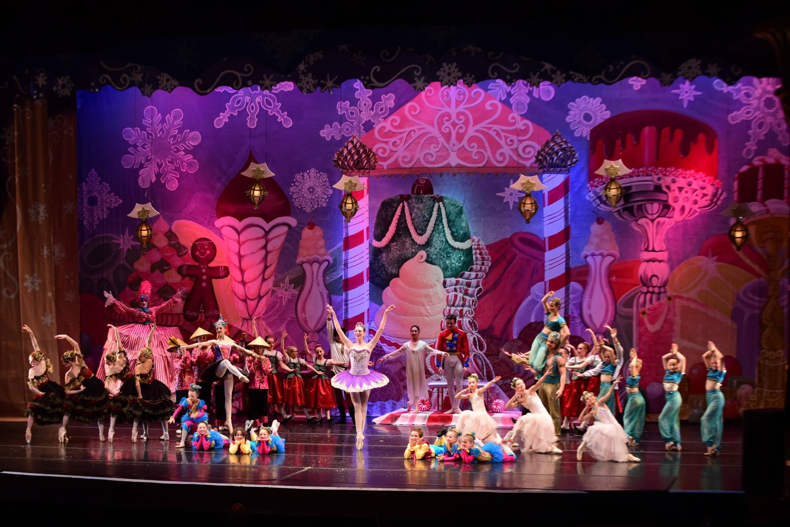 the nutcracker at imagine ballet theaters