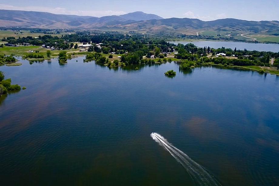 Pineview Reservoir ogden valley