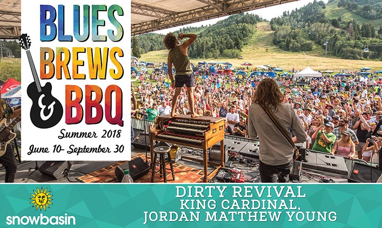 Dirty Revival Snowbasin Blues, Brews, and BBQ