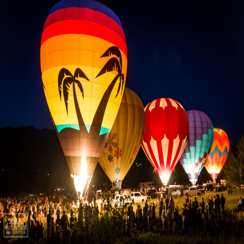 Ogden Valley Balloon Glow