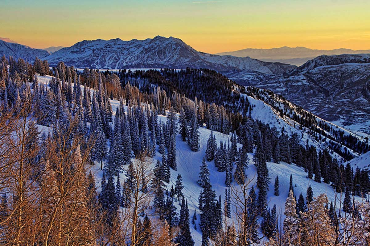 powder mountain ski resort