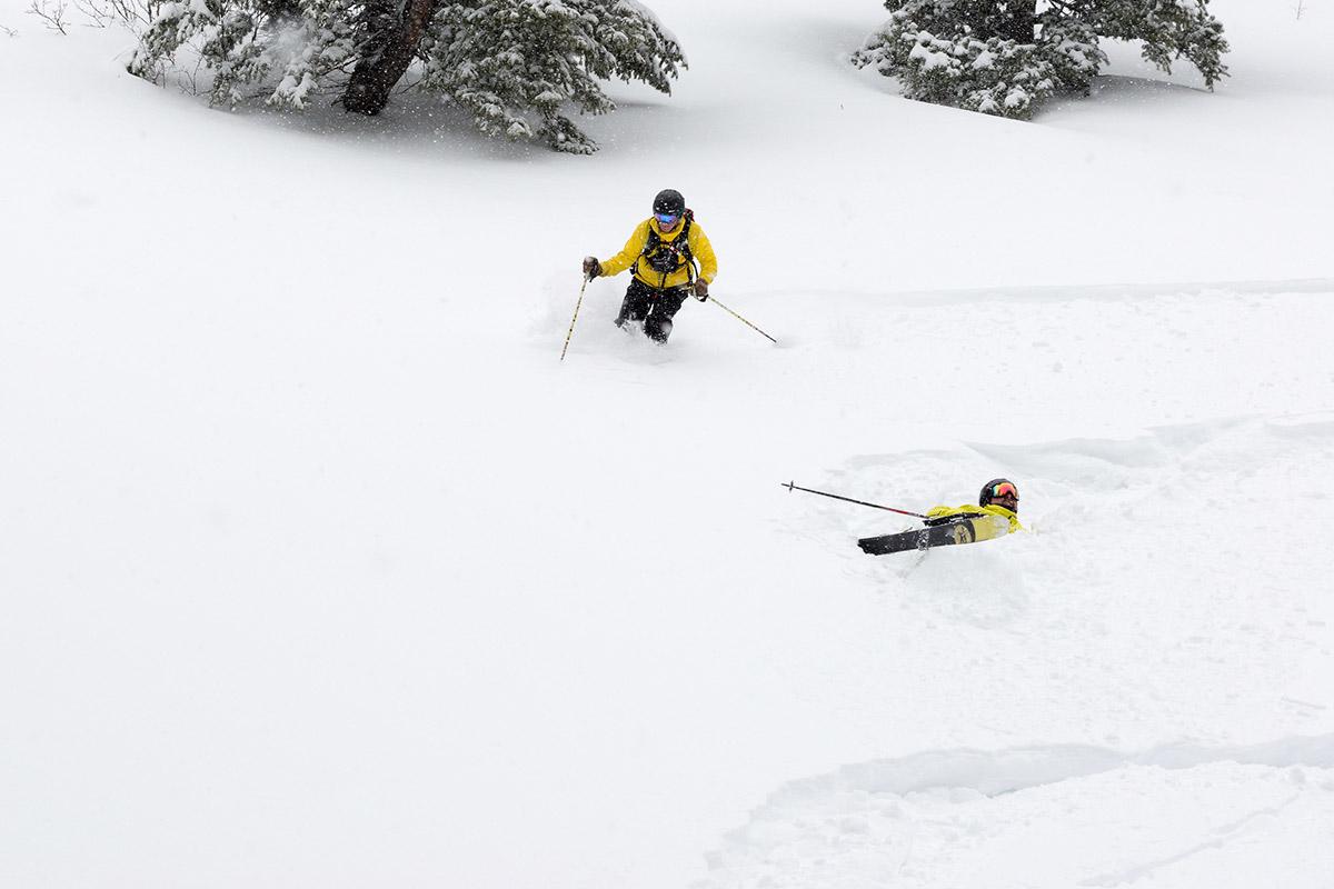 cat skiing at powder ridge winter wonderland