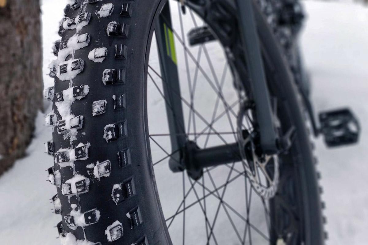 fat tire biking winter wonderland