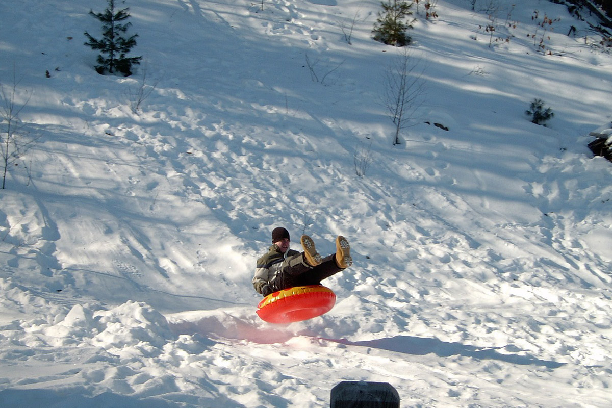 tubing at nordic valley winter wonderland