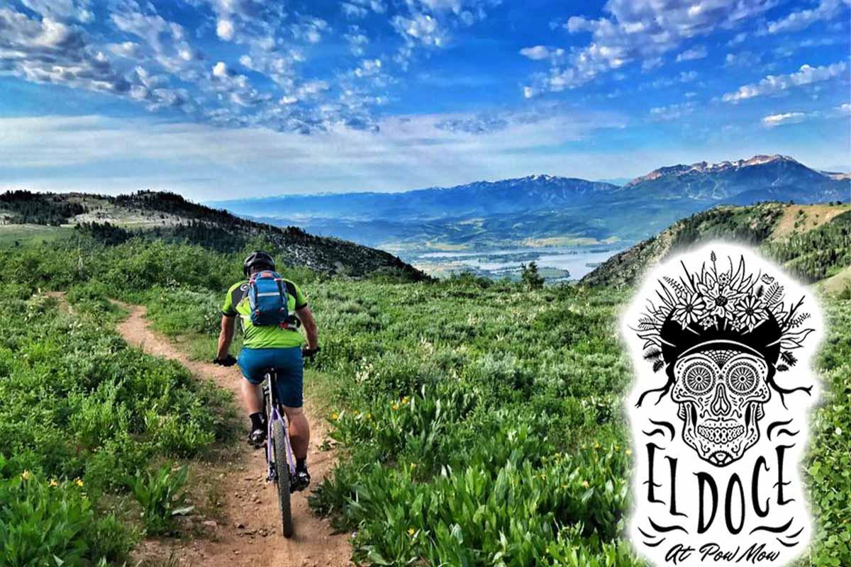 el doce mountain bike race powder mountain