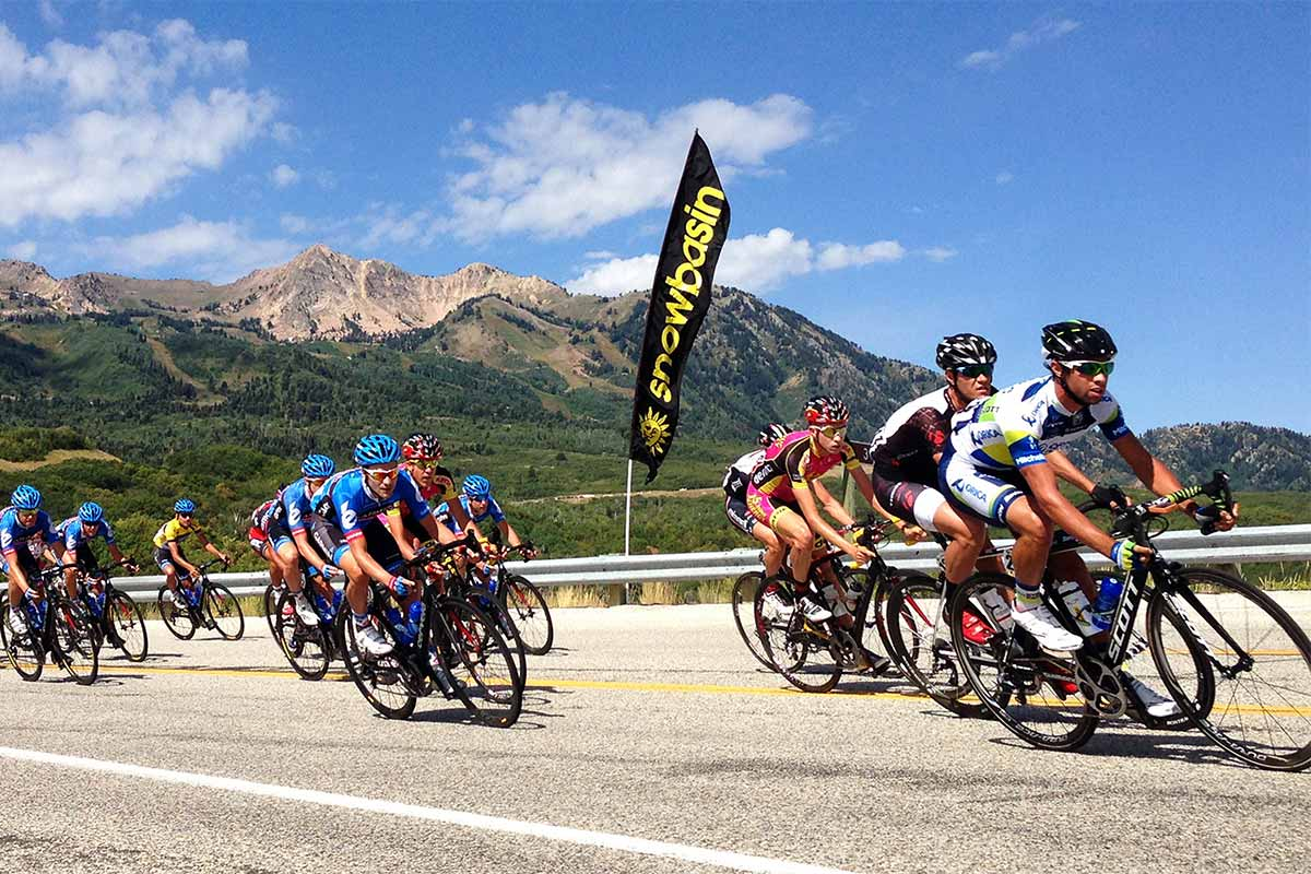 Tour of Utah bike race
