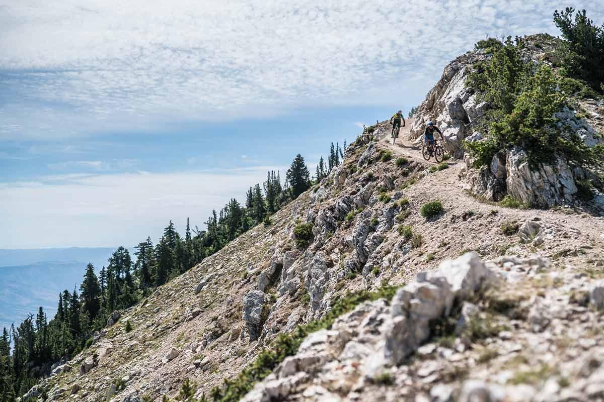 ogden valley mountain biking