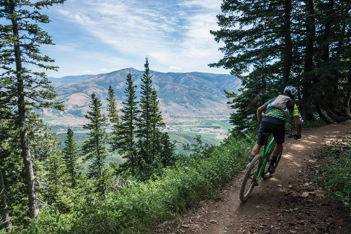 north fork park mountain biking