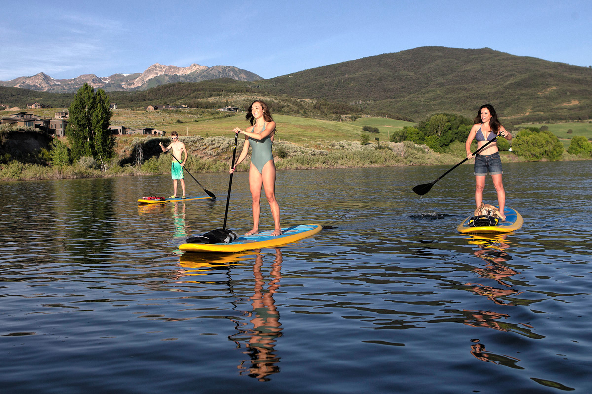 paddle boarding ogden date night ideas